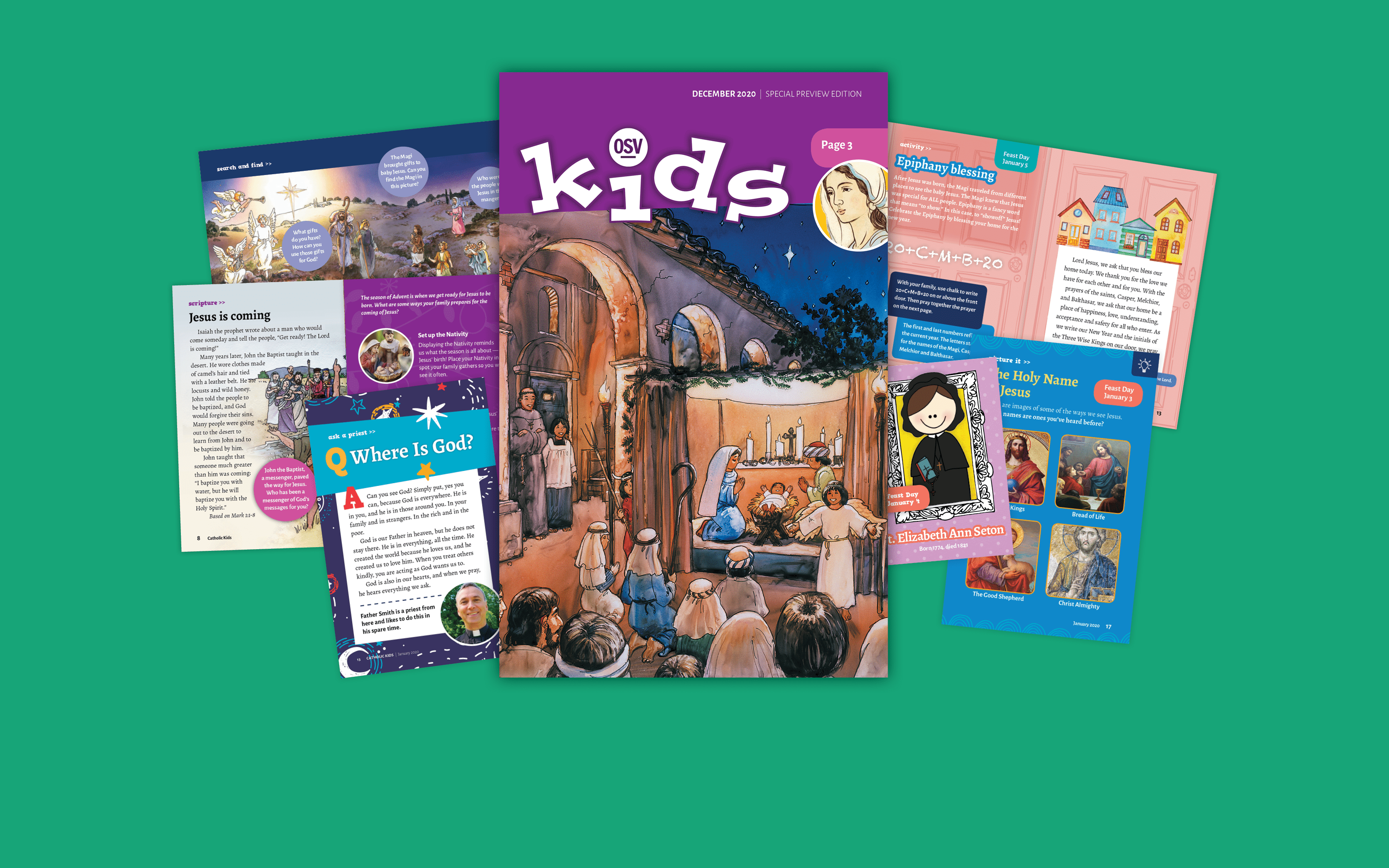 OSV Kids: A new magazine for kids ages 2-6