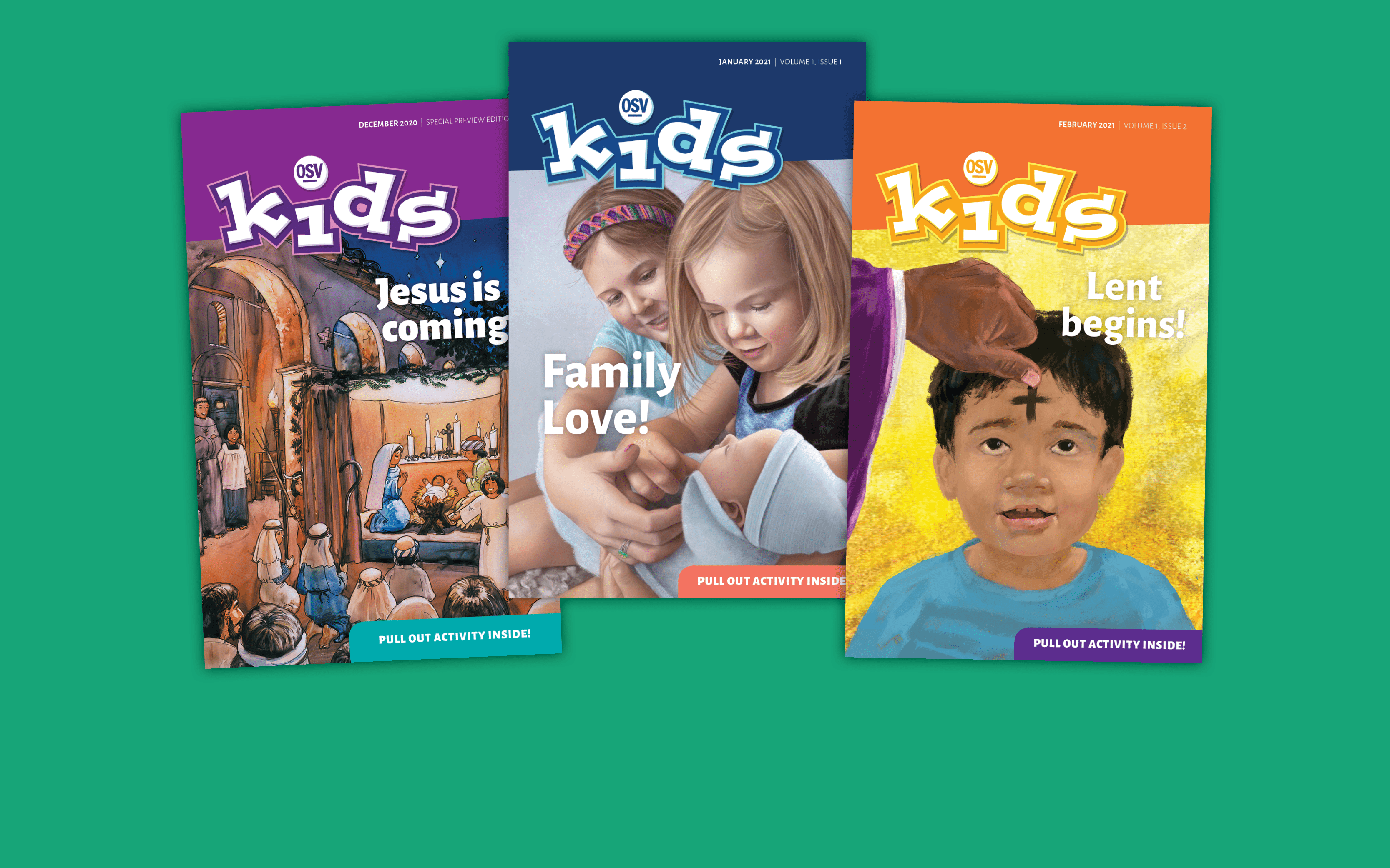 Subscribe now to OSV Kids!