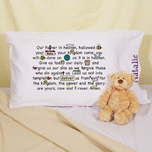 How to make your own prayer pillowcases