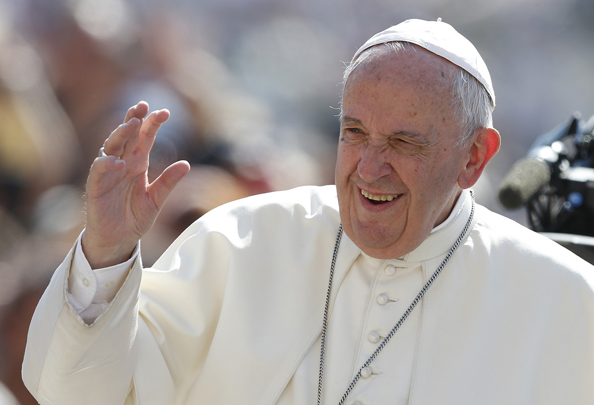 Pope Francis's five-finger prayer