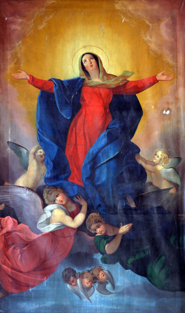 Celebrate the Solemnity of the Assumption with kids