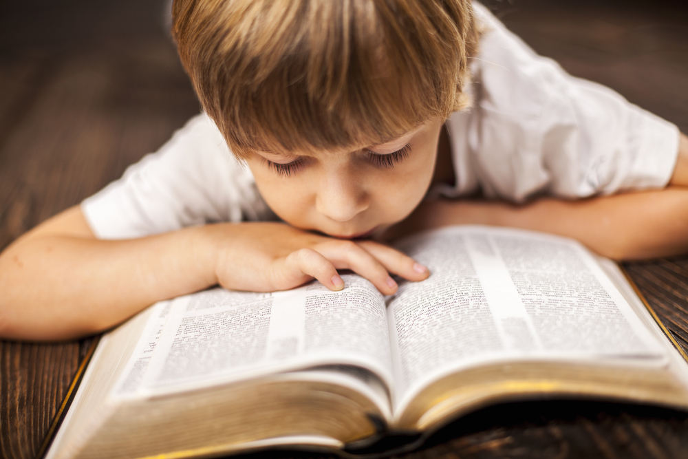 The ABCs of teaching your kids to read the Bible