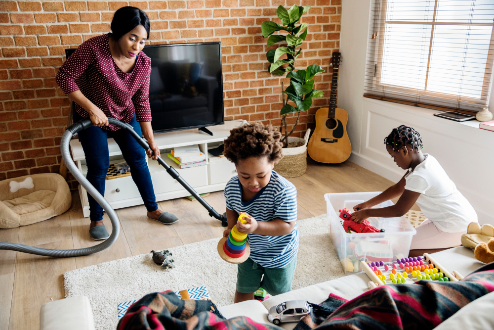 Age-appropriate ways to teach kids the dignity of work at home
