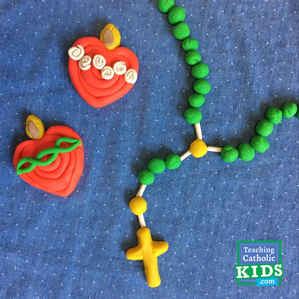 Play-Doh with a Catholic twist