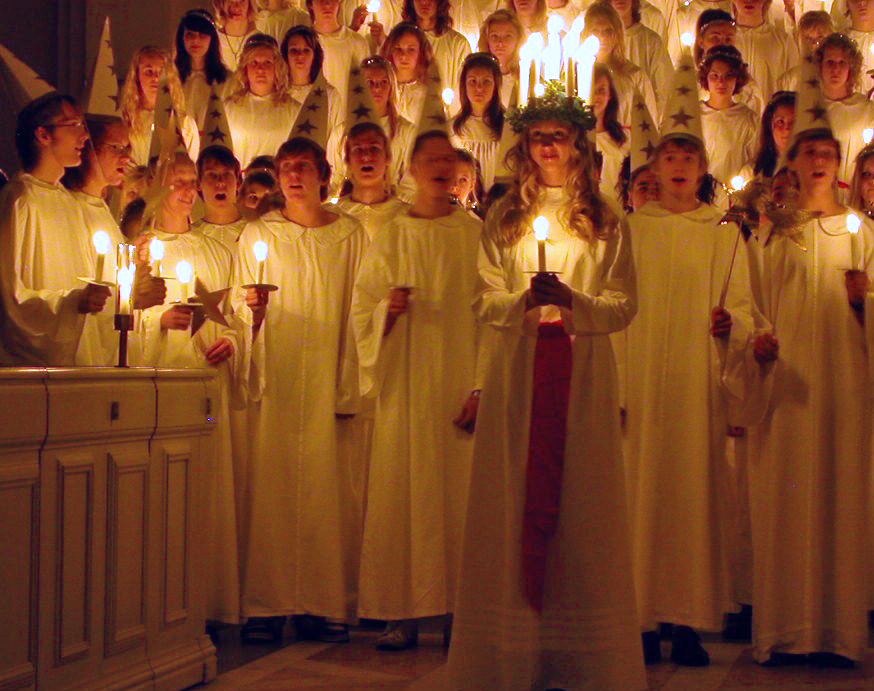 St. Lucy, light the way!