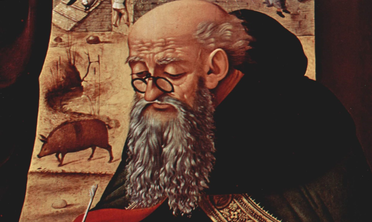 St. Anthony of Egypt … and his pig