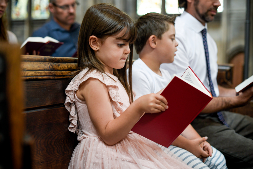 Kids at Mass (yes, you can)