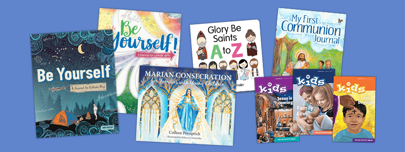 Catholic books for your little one this Christmas